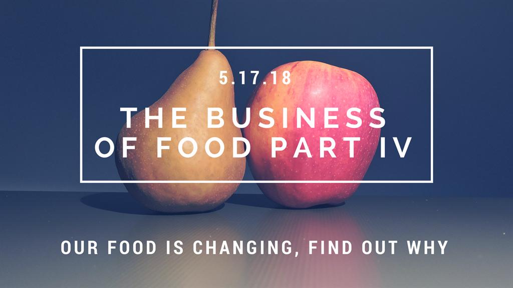 Harvard Business School Association of Boston - The Business of Food